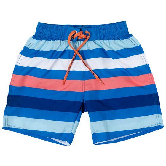 Badeshorts Gutt Navy Striper, multi-stripe, hi-res