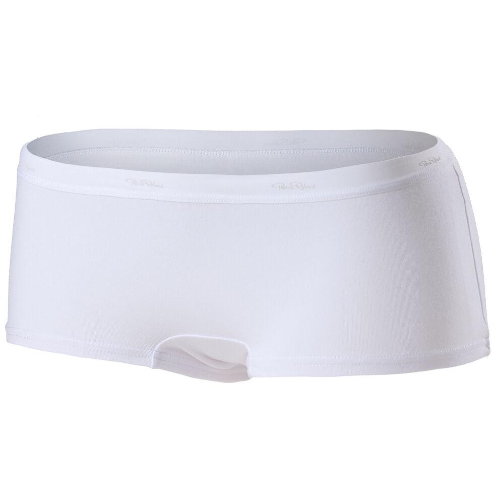 Cotton boxer (GOTS) White, white 2018, hi-res