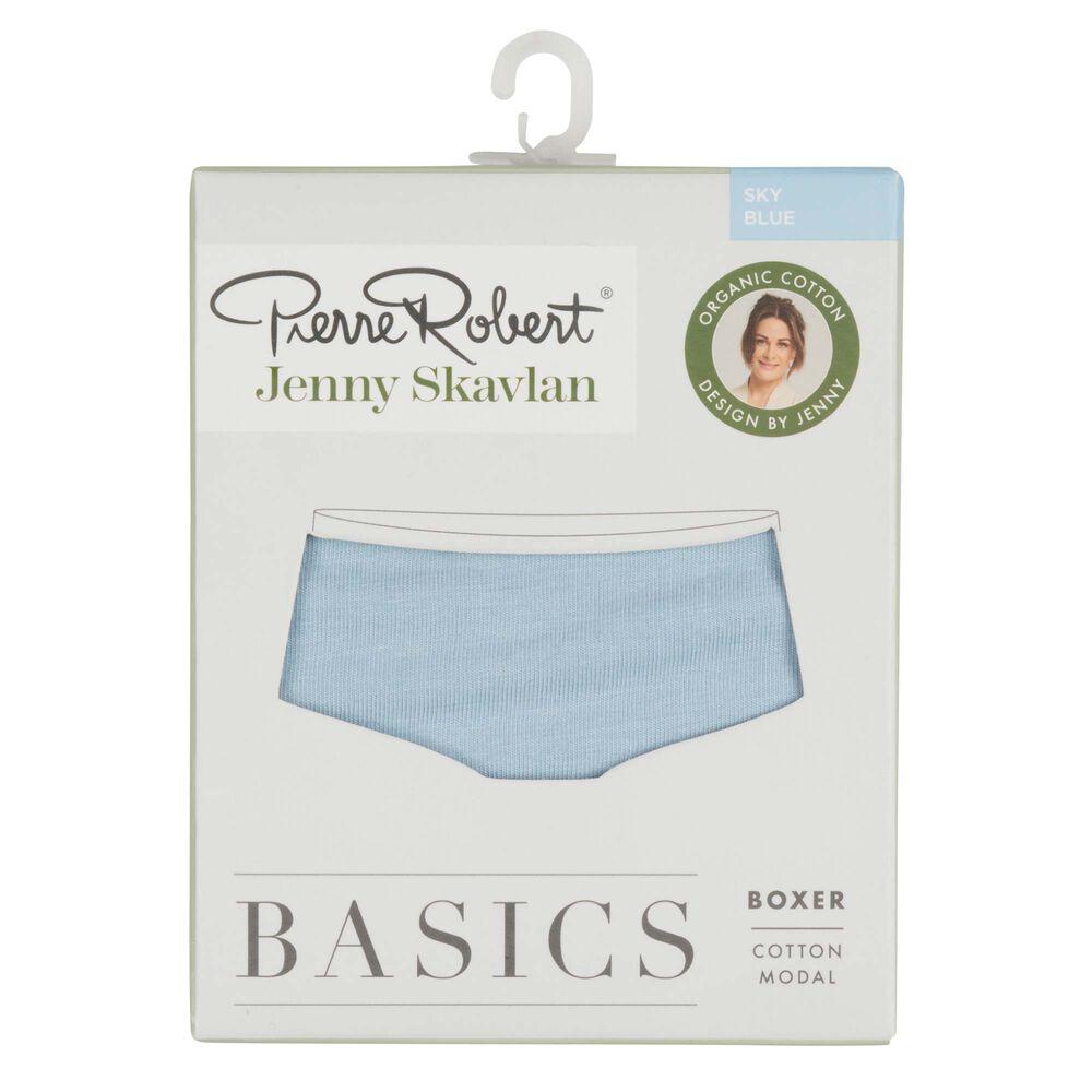 Basics boxertruse økologisk bomull/modal, sky blue, hi-res