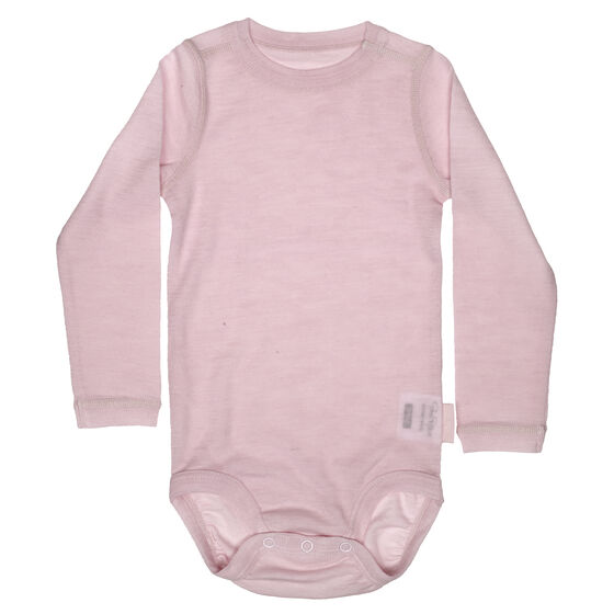 Baby Long Sleeve Body Soft Pink 2-17, soft pink 2-17, hi-res