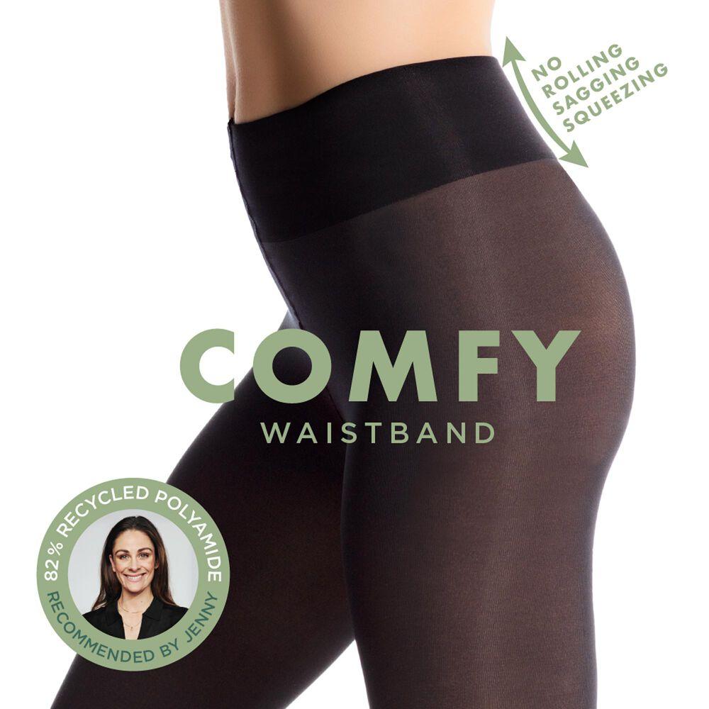 Comfy tights strømpebukse 50 den, black, hi-res