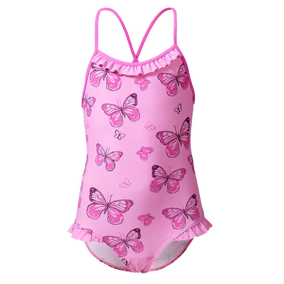 Badedrakt Rosa Sommerfugl, butterfly, hi-res