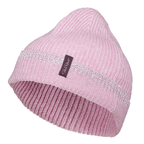 WOOL REFLECTIVE HAT Soft Pink 2-17, soft pink 2-17, hi-res