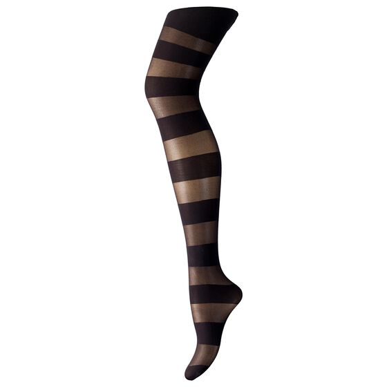 STATEMENT TYKKE Black Horizontal Stripe, black horizontal stripe, hi-res