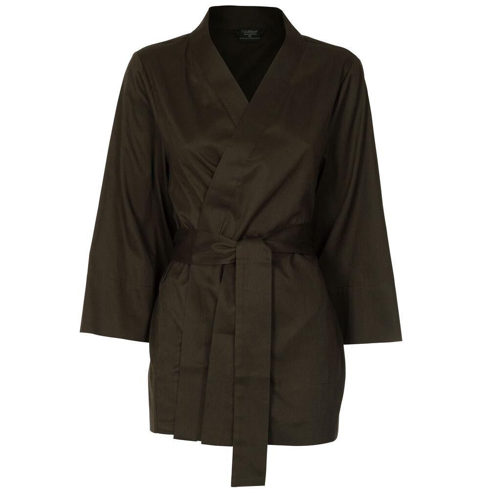 Loungewear kimono Jenny Skavlan, leaf green, hi-res