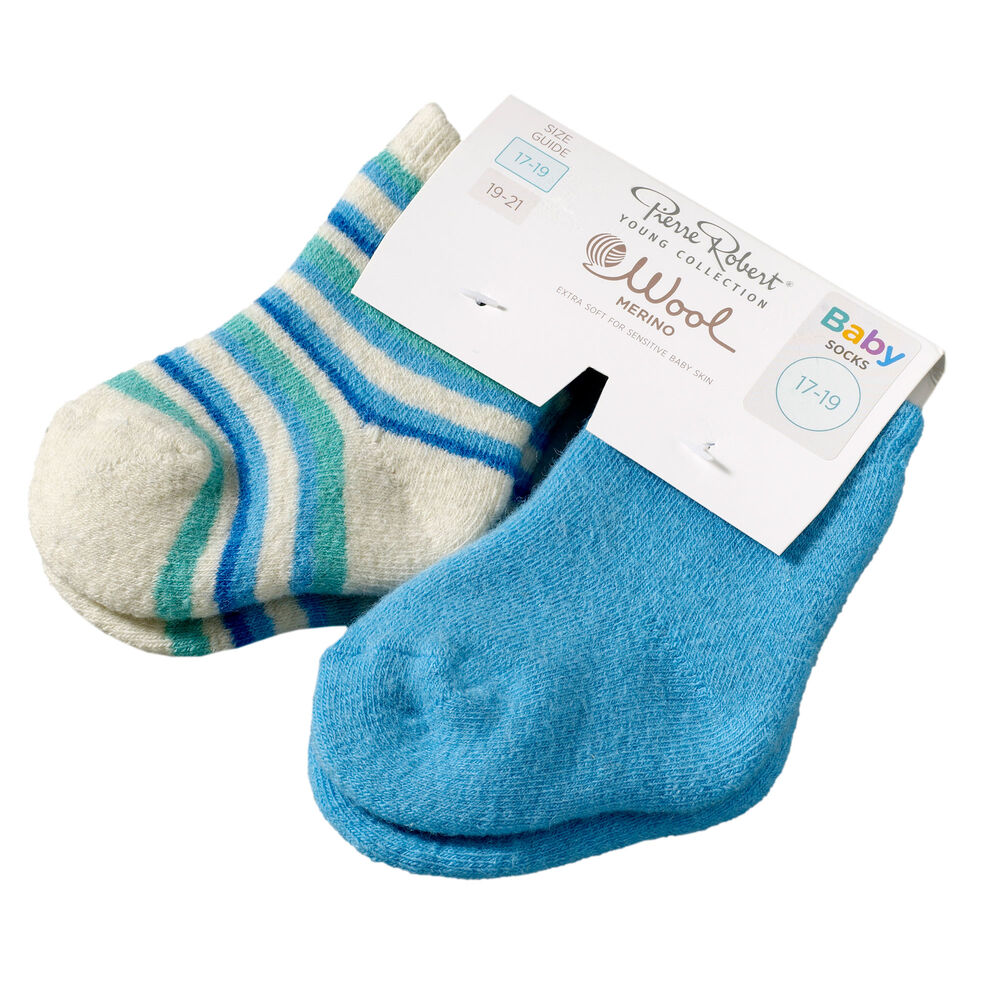 Baby villasukat 2-pack, , hi-res