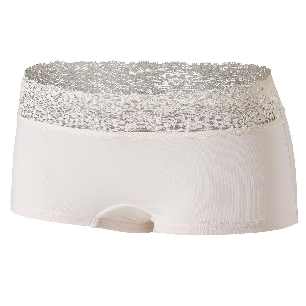 Cotton boxer lace alushousut, , hi-res